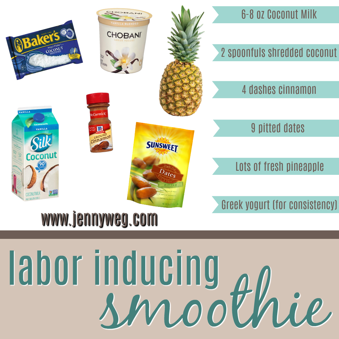 Foods To Induce Labor Naturally