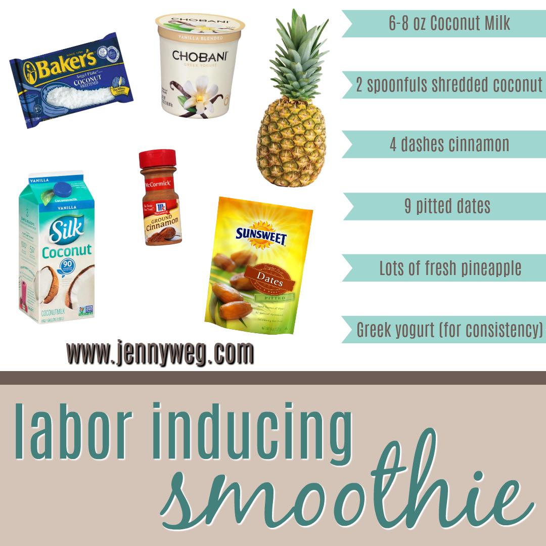 Labor Inducing Smoothing Recipe